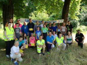 Les coureurs et l'équipe du SCMT