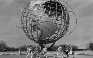 Semi-marathon à Flushing Meadow en 1980