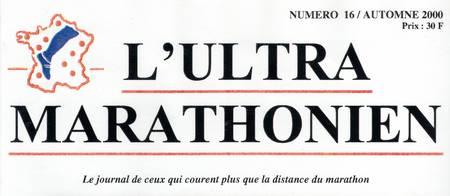 Couverture de l'Ultra Marathonien Automne 2000