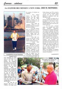L'article du magazine l'Ultra Marathonien