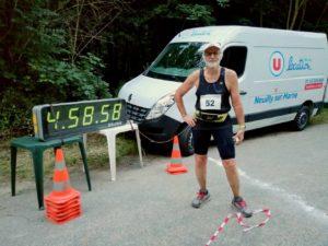 Jean-Michel Boiron termine son 404ème 100 km !