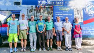 Les 8 participants des 3100 miles de 2019