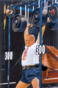 Soulevé de 2 fois 136 kilos avec support